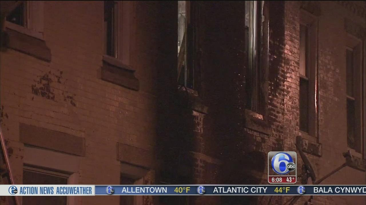Man, woman seriously burned in North Philadelphia fire