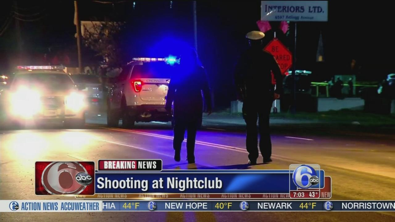 15 people shot, 1 killed at Cincinnati nightclub