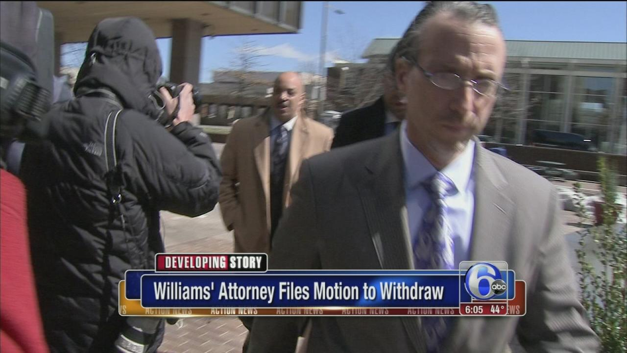 Philly DA Seth Williams attorney files motion to withdraw