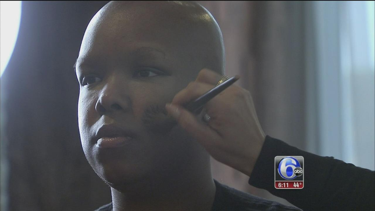 Women battling cancer treated to day of makeup, mimosas