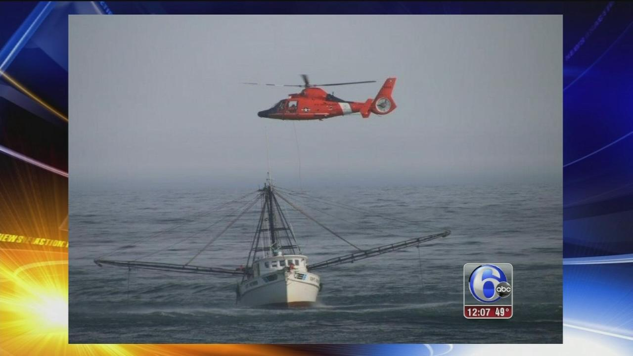 Atlantic City Coast Guard crew rescues boat captain