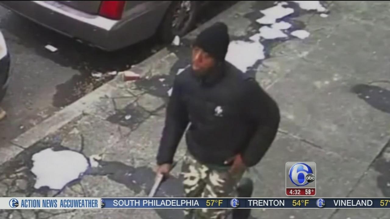 Video shows gunman chasing down shooting victim