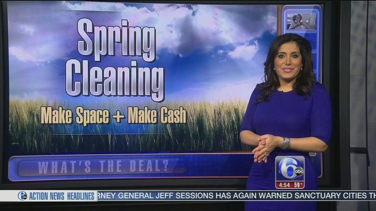 Whats the Deal: Spring cleaning and decluttering