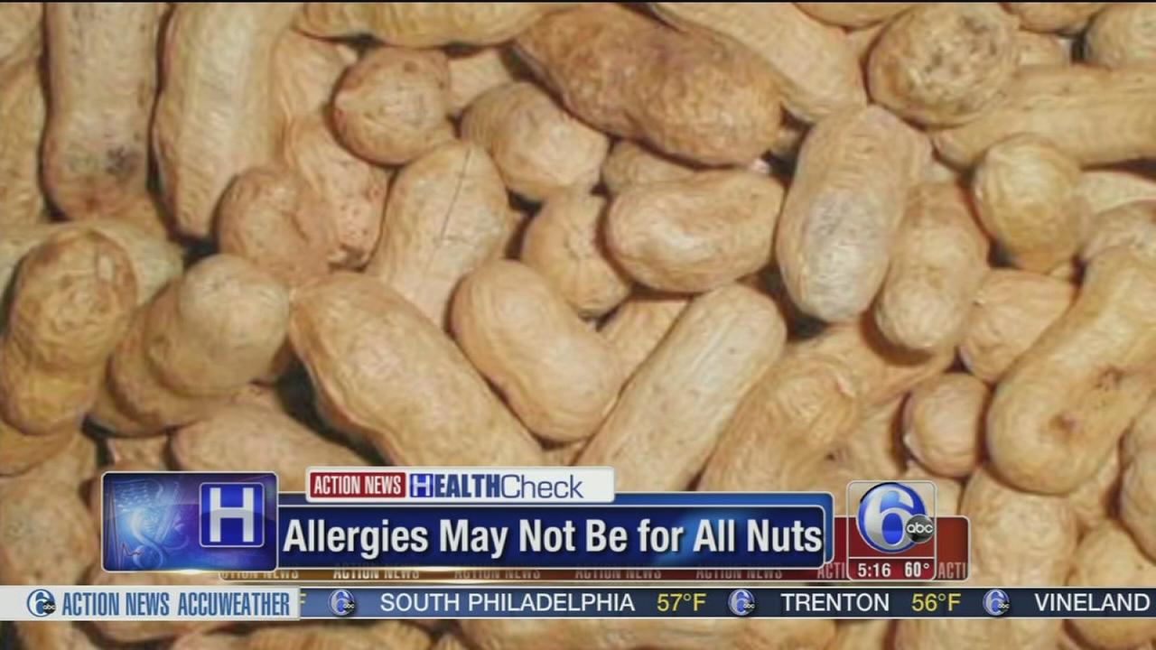 Study: Nut allergy not universal for all