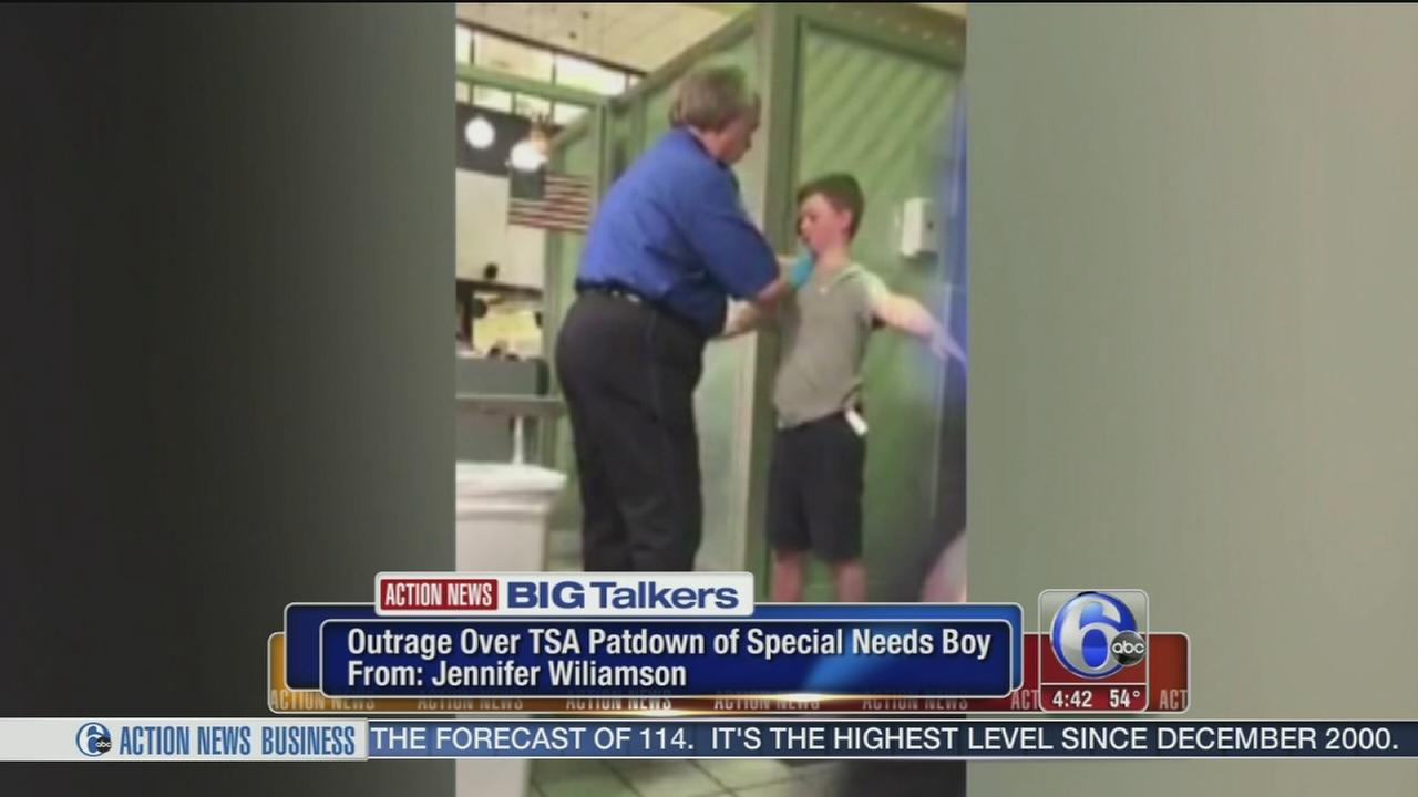 Mother livid over TSA pat down of special needs son