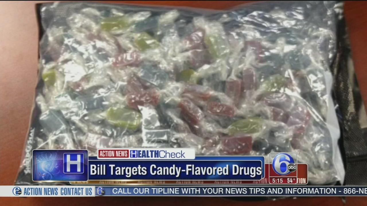 Bipartisan Senate bill targets candy-flavored drugs
