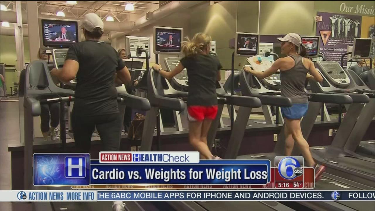 Is cardio or weight training better for weight loss?