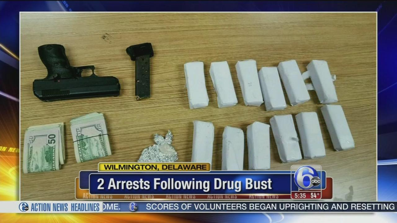 Police: 1,500 bags of heroin found at Delaware apartment