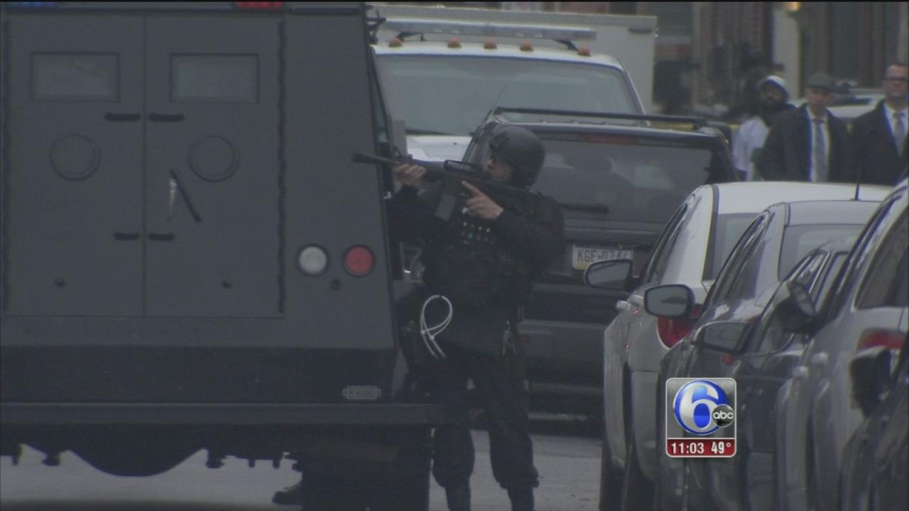 Suspect at large in North Philly barricade situation