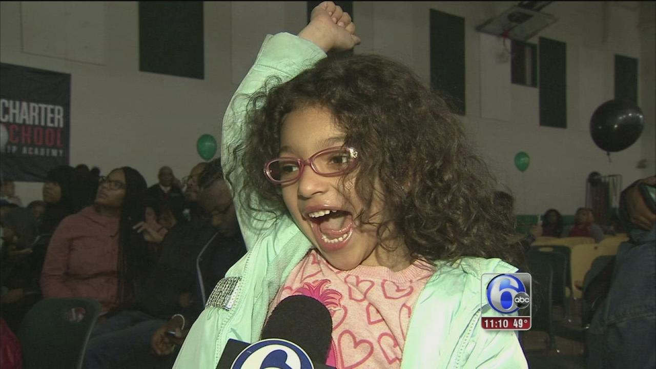Excitement, disappointment during annual school lottery in West Philly