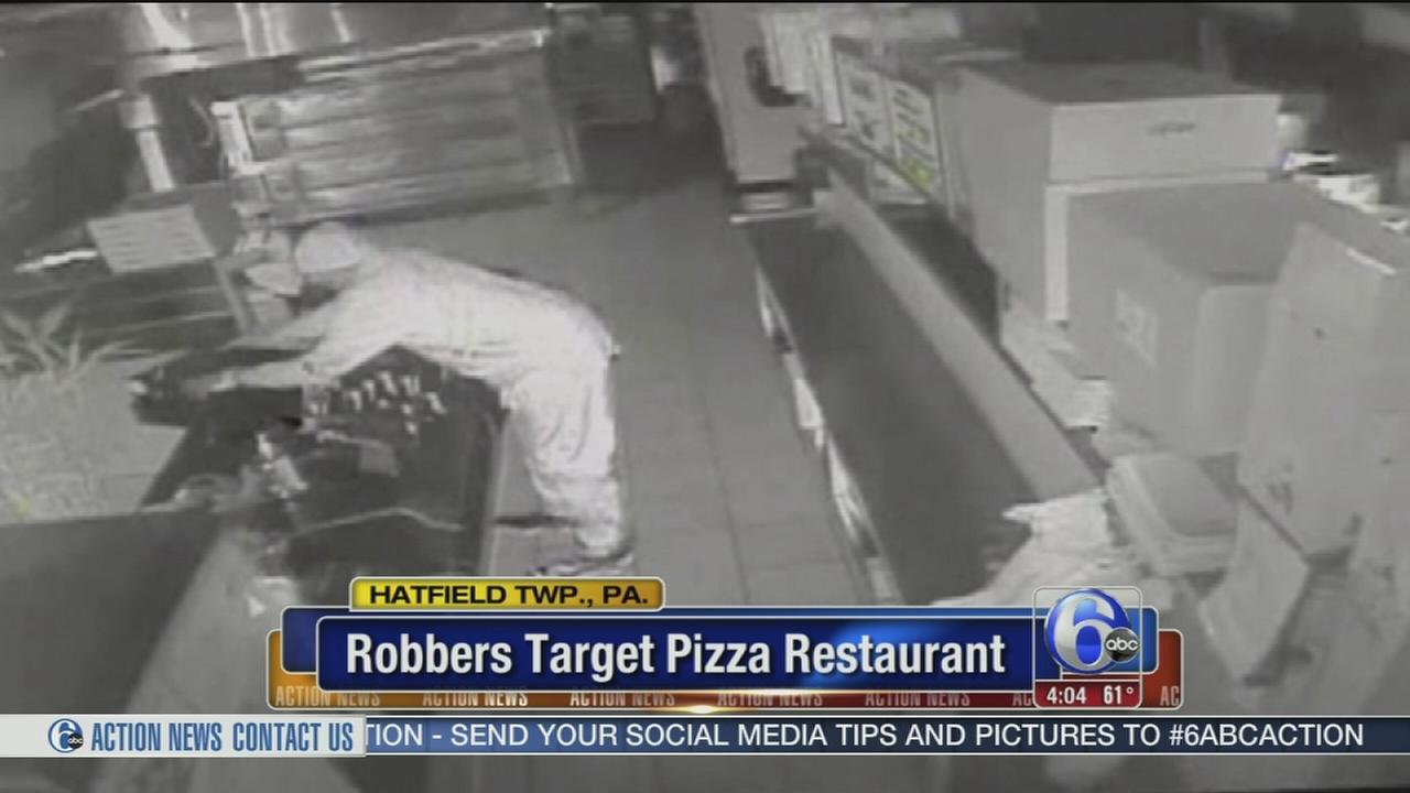 Suspect targest Hatfield pizza shop