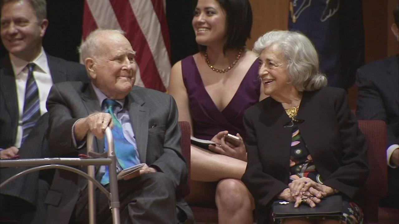 Temple renames school in honor of Lew Klein