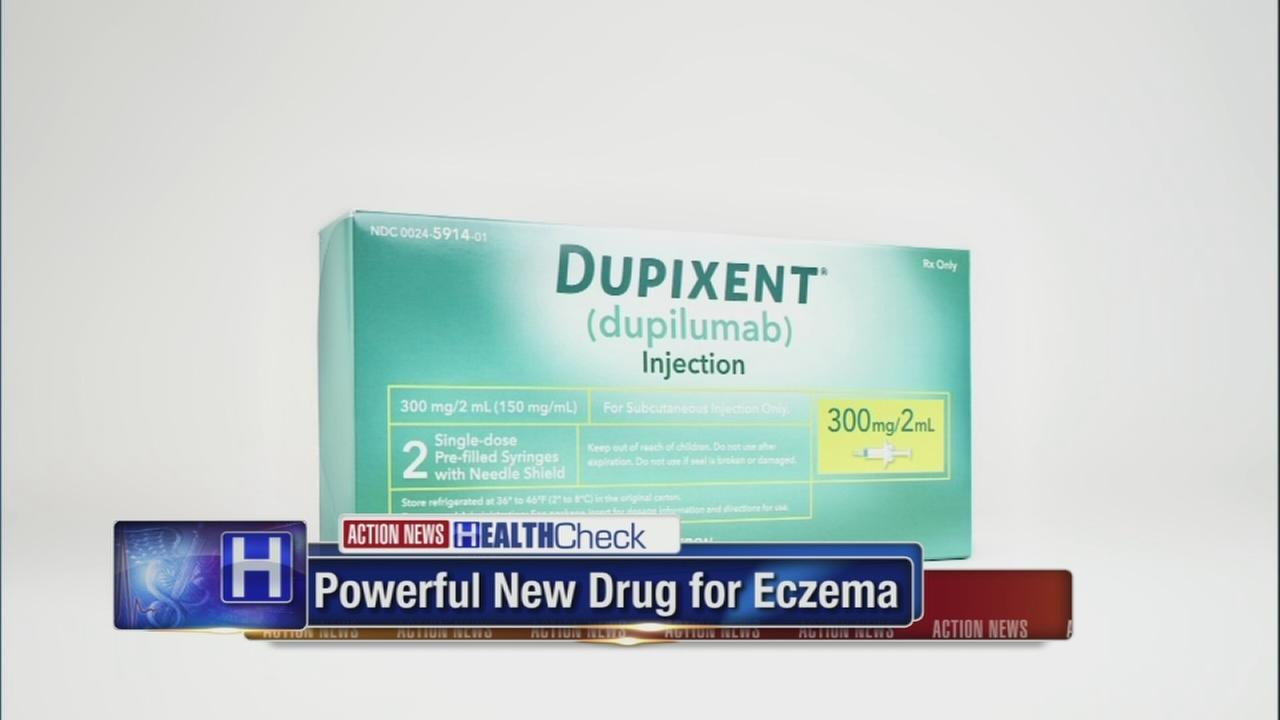FDA Approves 1st drug for moderate and severe eczema cases