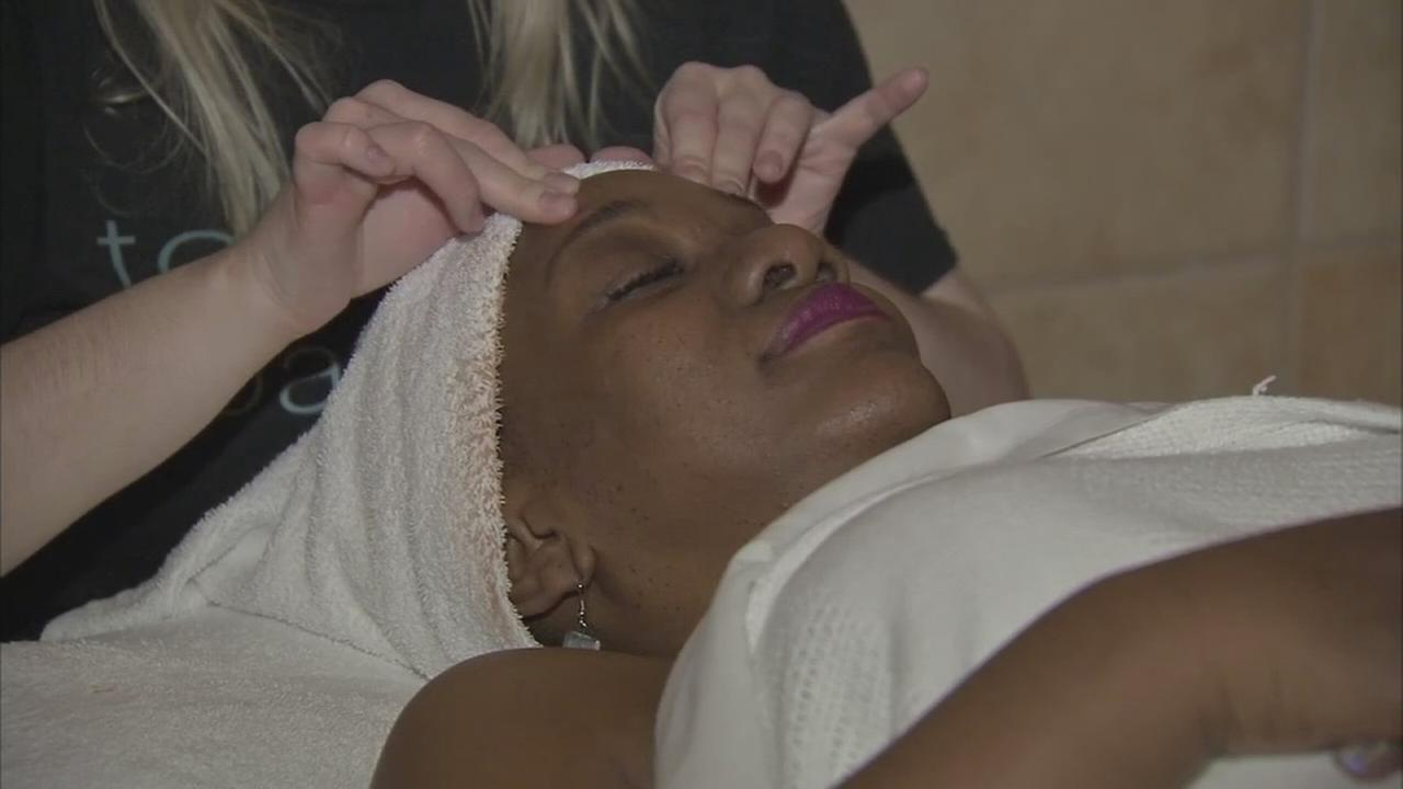 Cancer fighters get some welcome pampering