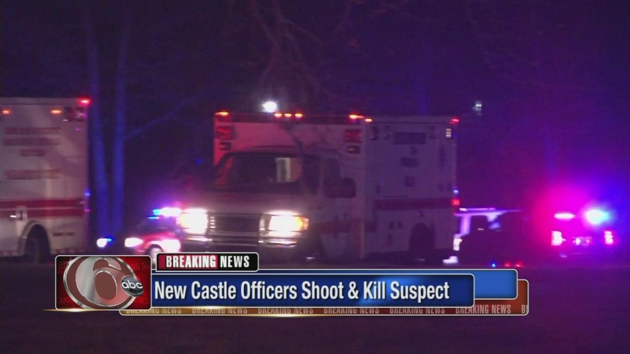 New Castle officers shoot, kill suspect