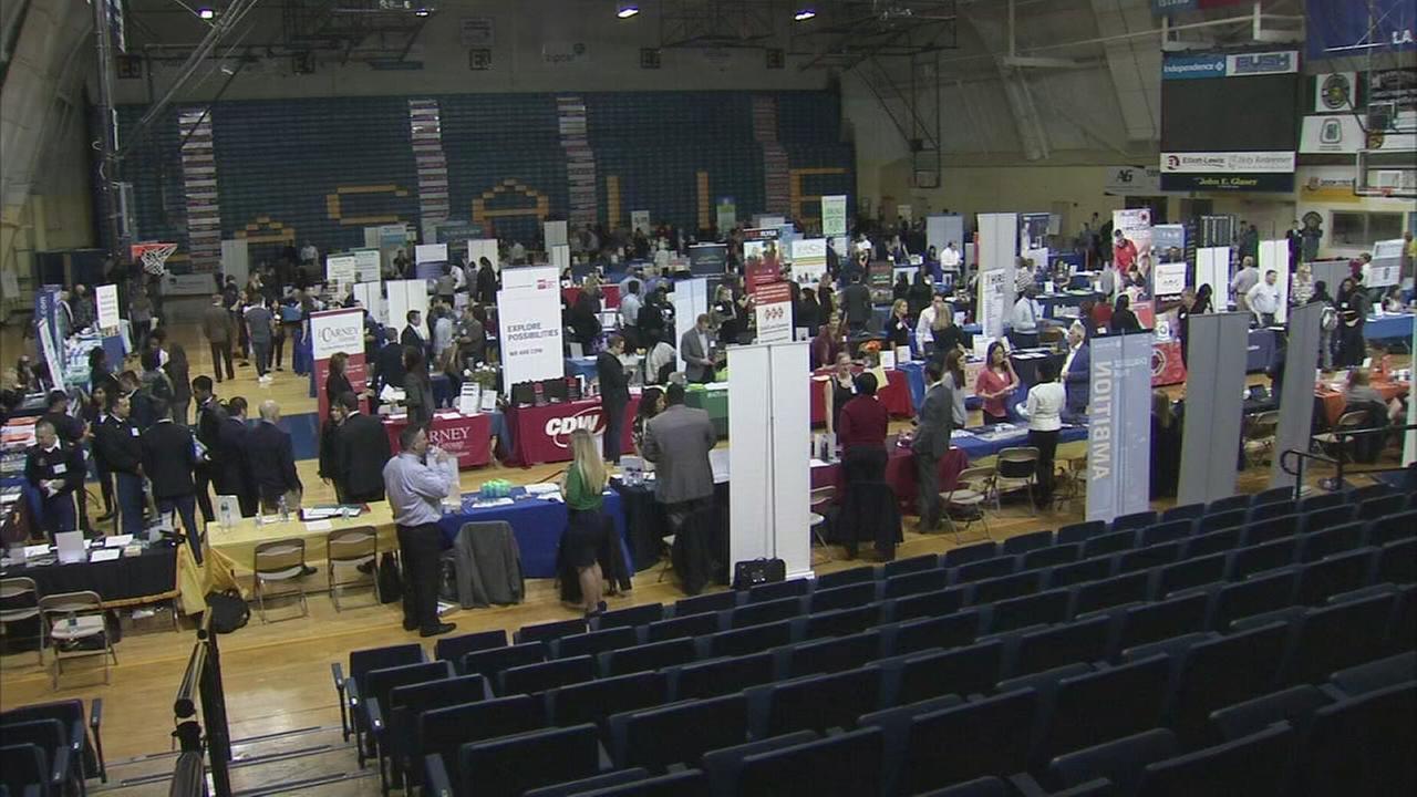 LaSalle University job fair