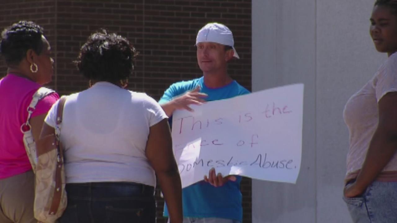 Men humiliated for domestic violence in North Carolina