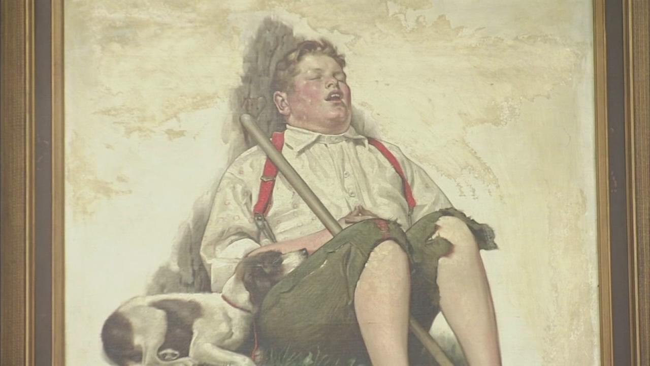 FBI returns Rockwell painting stolen in NJ in 1976