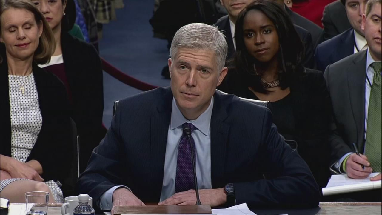 Dems claim votes to block Gorsuch