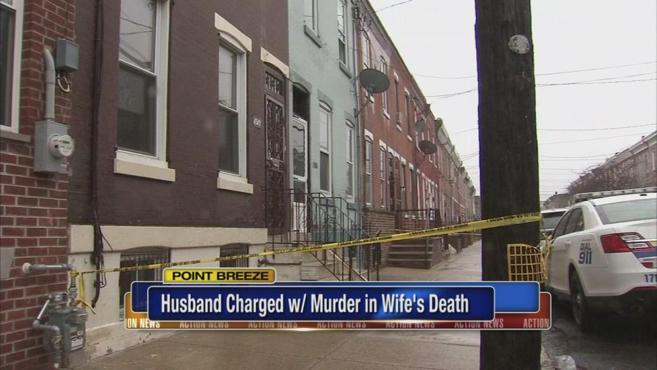 Man charged with wifes murder in Point Breeze