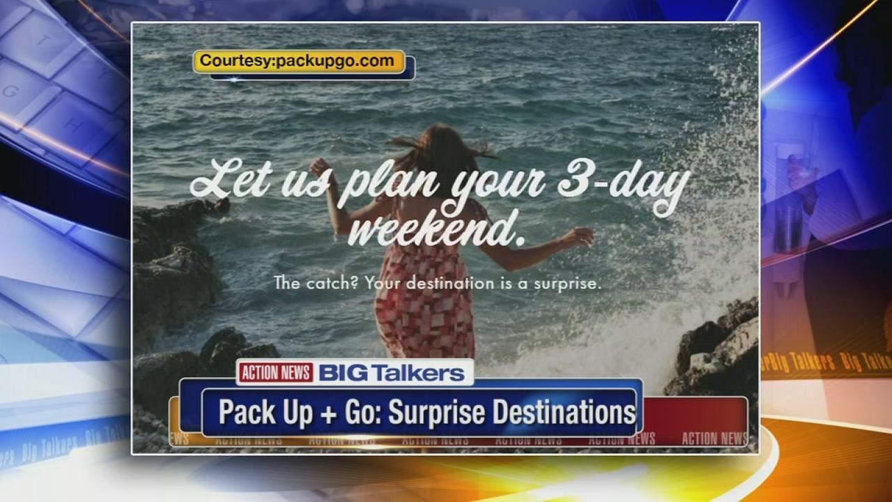 New service plans your vacation but keeps the destination a surprise