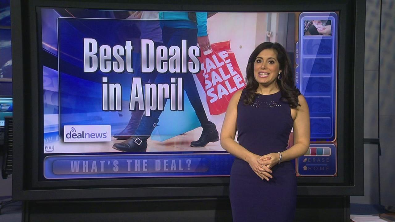 Whats the Deal: Best items to buy in April