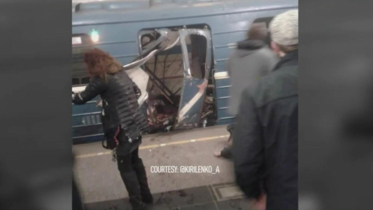Blast on Russian subway kills 11