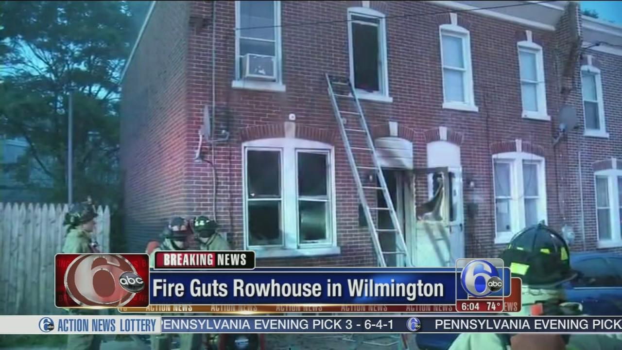 Family escapes house fire in Wilmington
