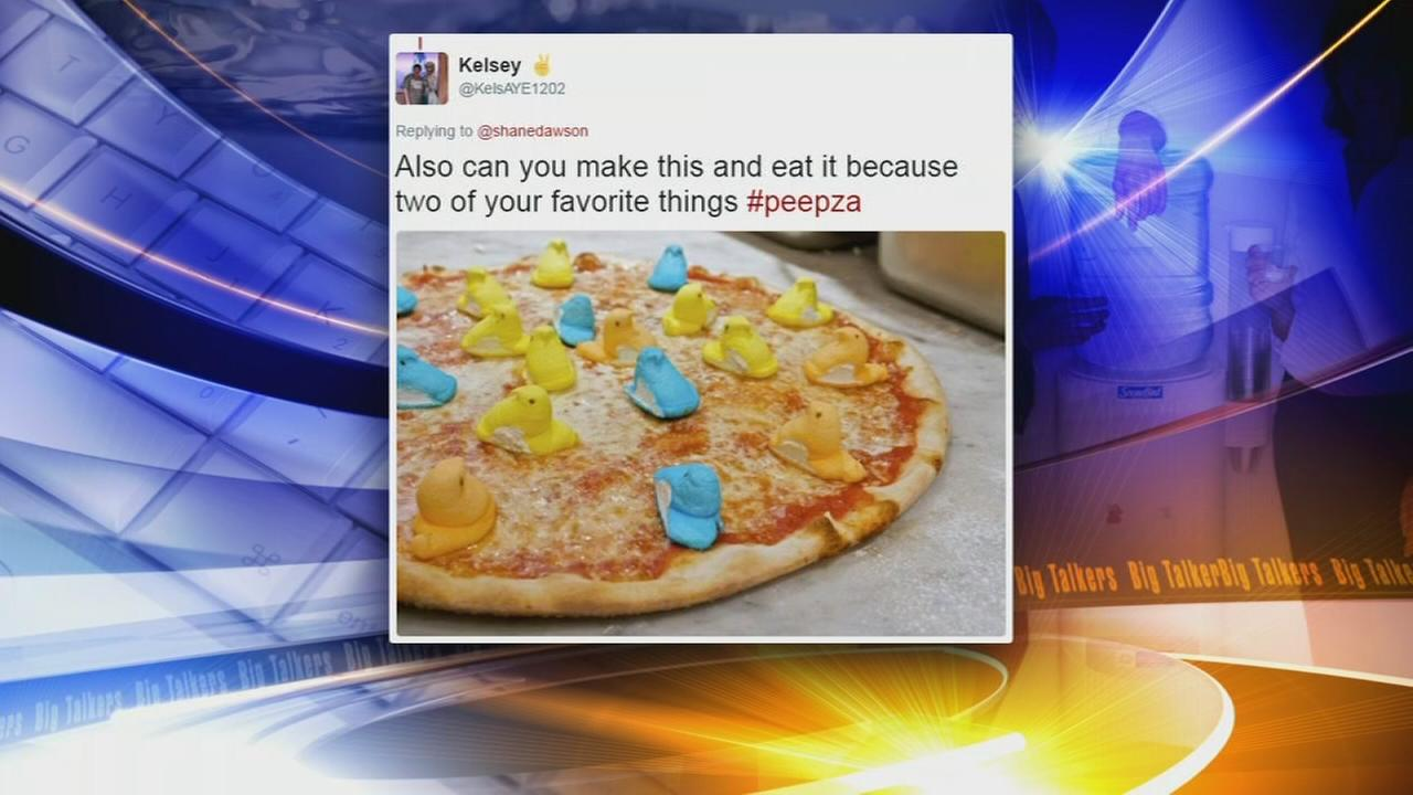 Do marshmallow Peeps belong on your pizza?