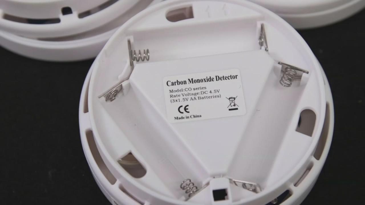 Consumer Reports: Carbon monoxide alarm safety risk