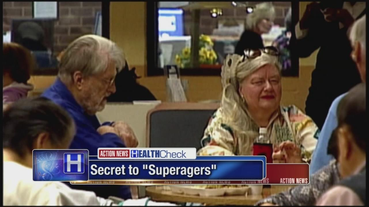 Researchers learning more about secrets of superagers