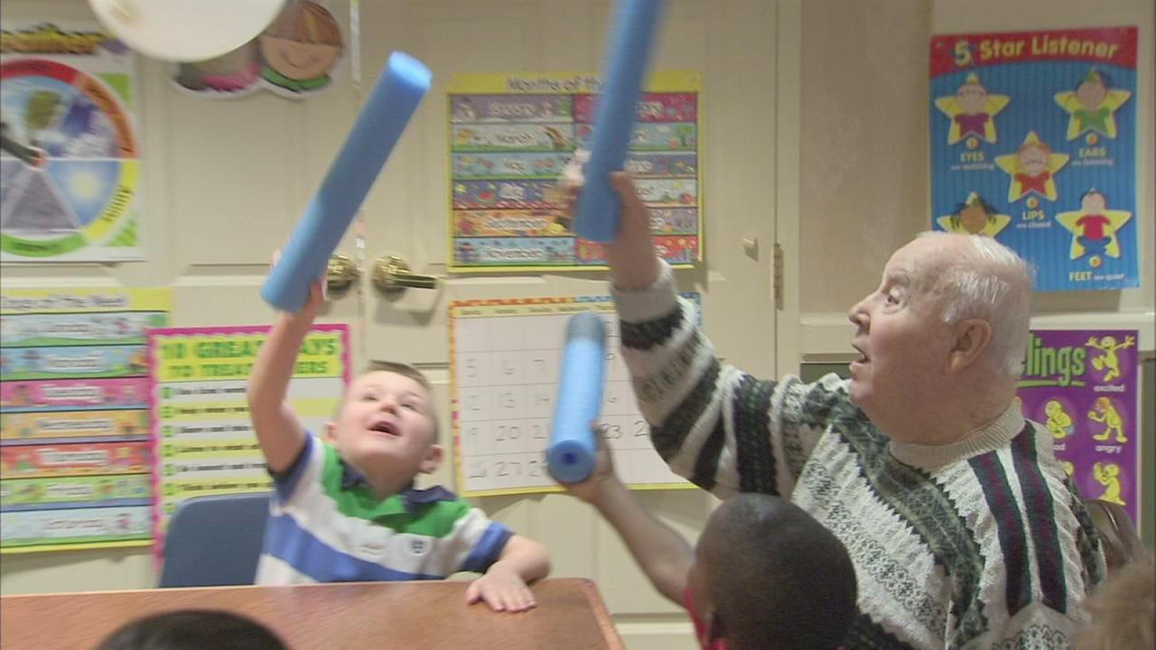 VIDEO: Young and old brought together by new program