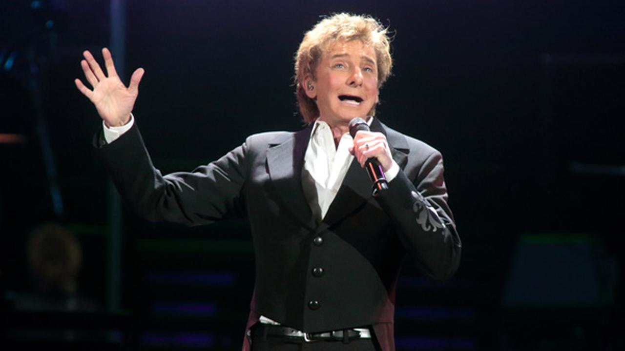 Barry Manilow performs in concert during his One Last Time! Tour 2016 at the Giant Center on Thursday, March 17, 2016, in Hershey, Pa.