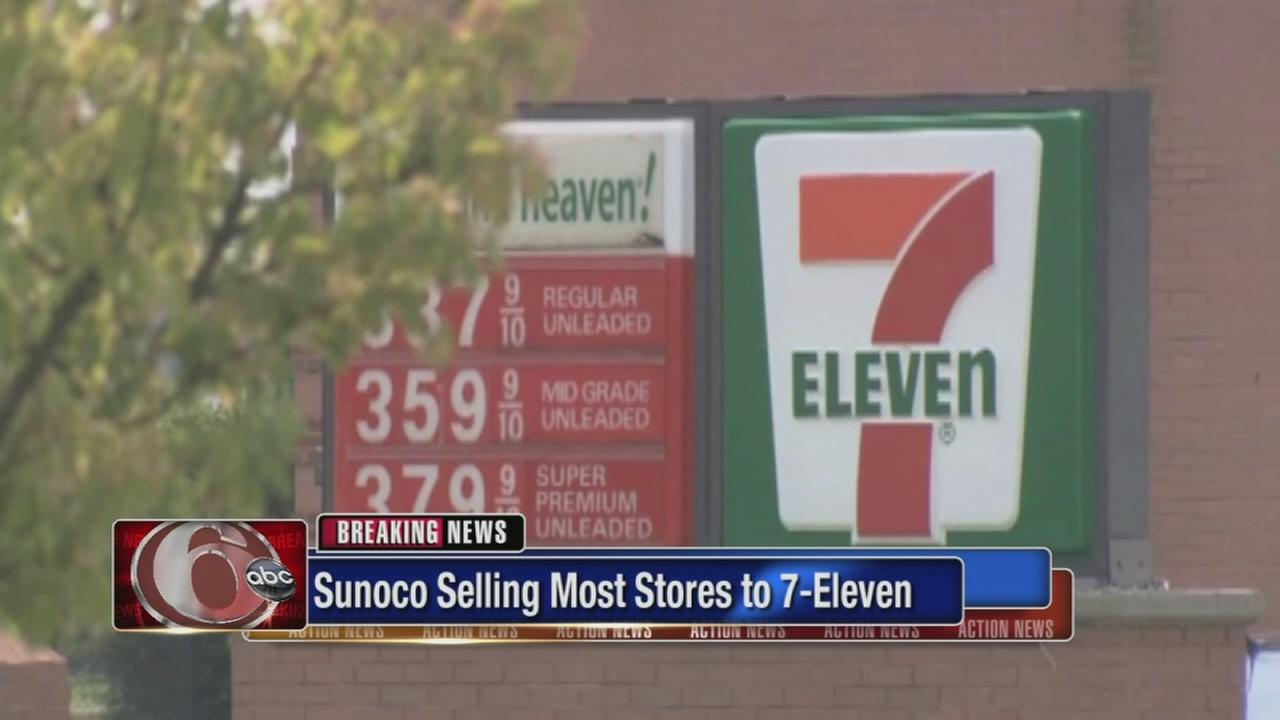Sunoco selling stores to 7-Eleven