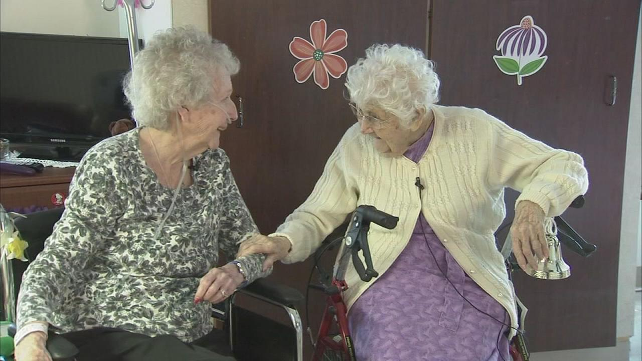 Art of Aging: 104-year-old woman brings sunshine, smiles to senior residence
