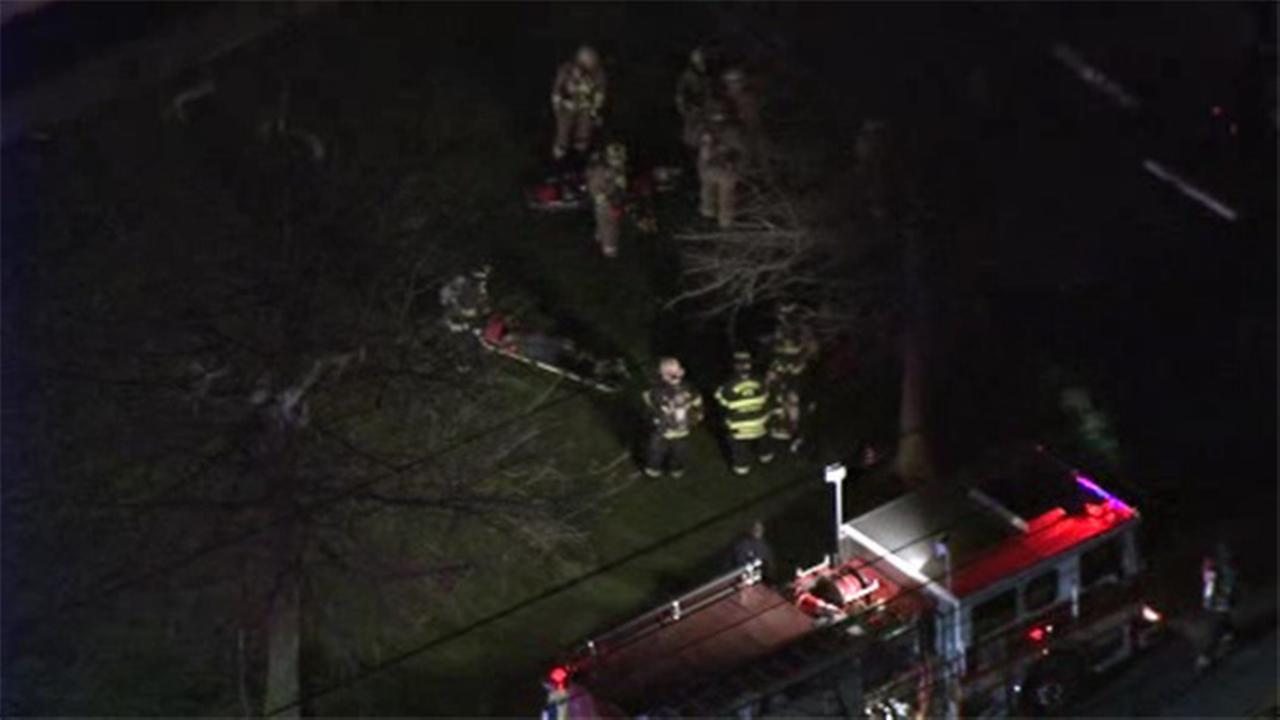 Warehouse erupts in flames in Gloucester County