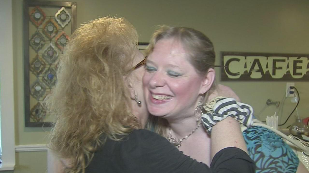 NJ woman surprises woman who saved her life