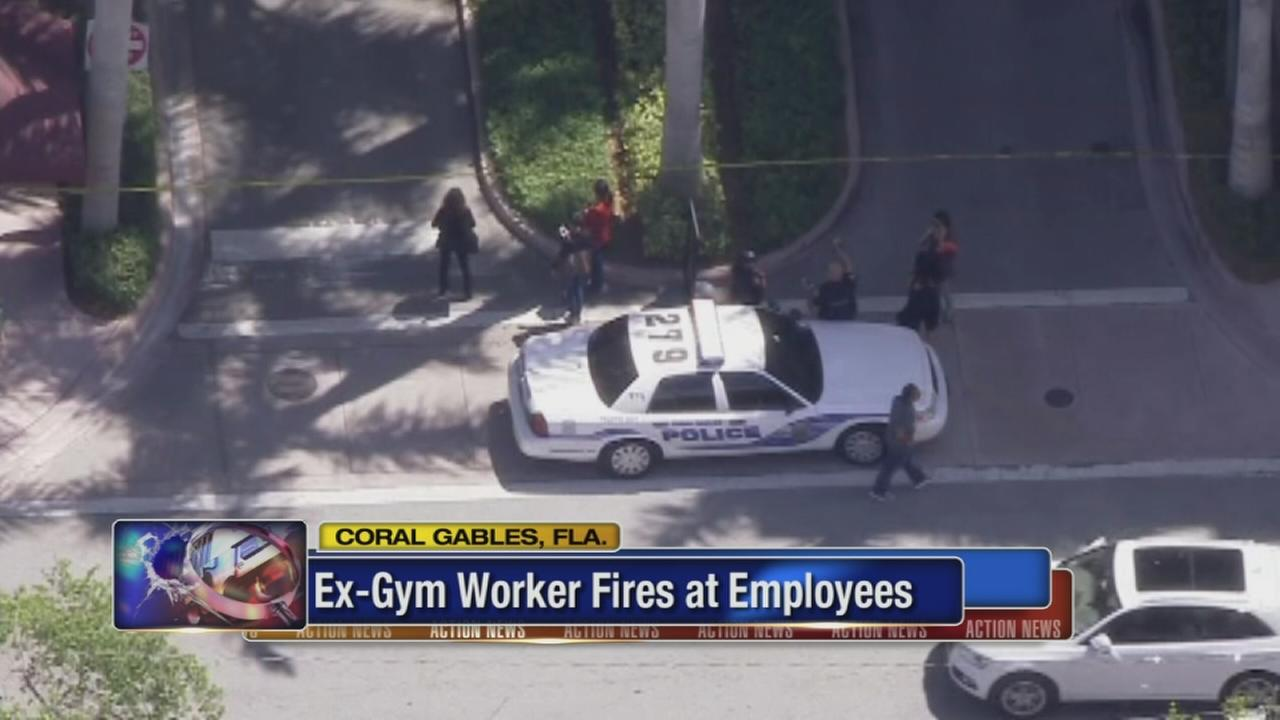 Official: Ex-gym employee shoots 2 in Florida, kills self