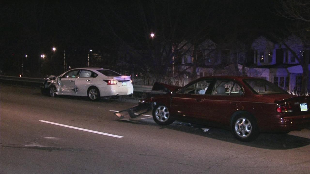 DUI suspected in crash on Roosevelt Blvd.