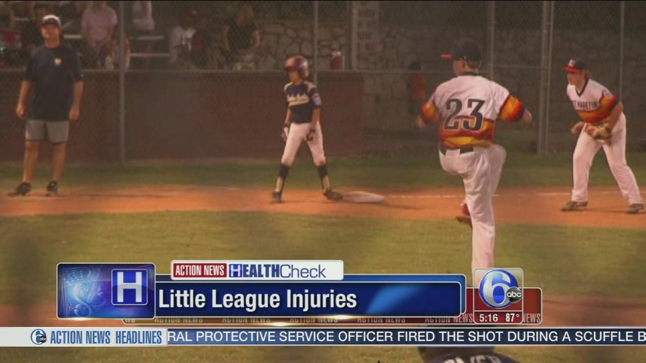 VIDEO: Little league injuries on the rise
