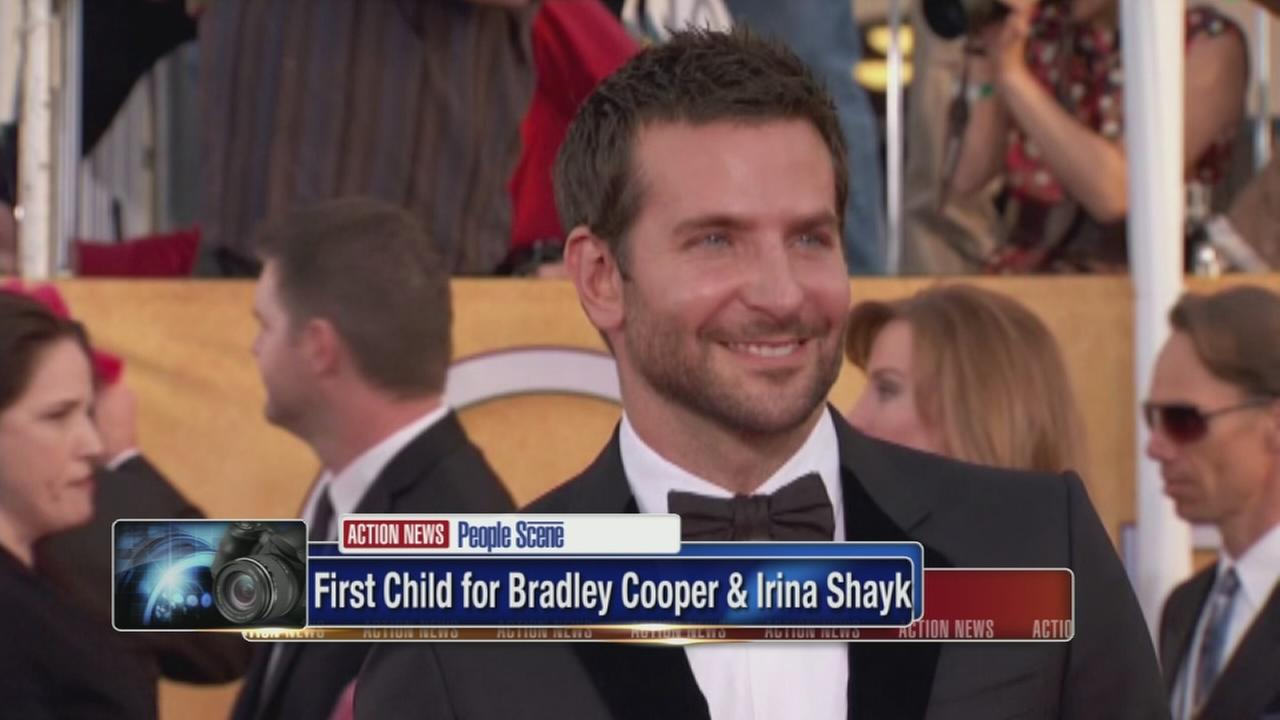 Bradley Cooper has first child
