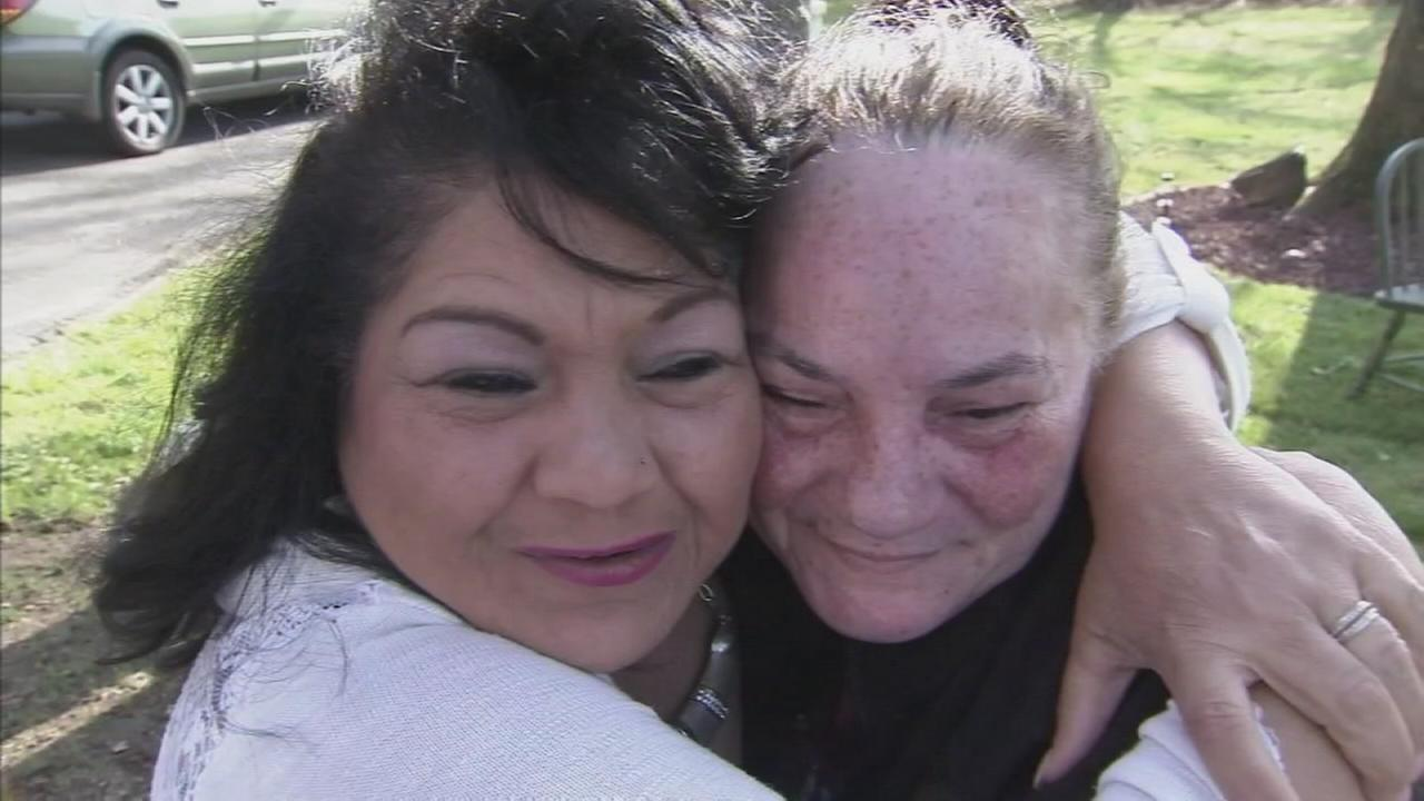 Long lost sister reunites with siblings in Salem Co.