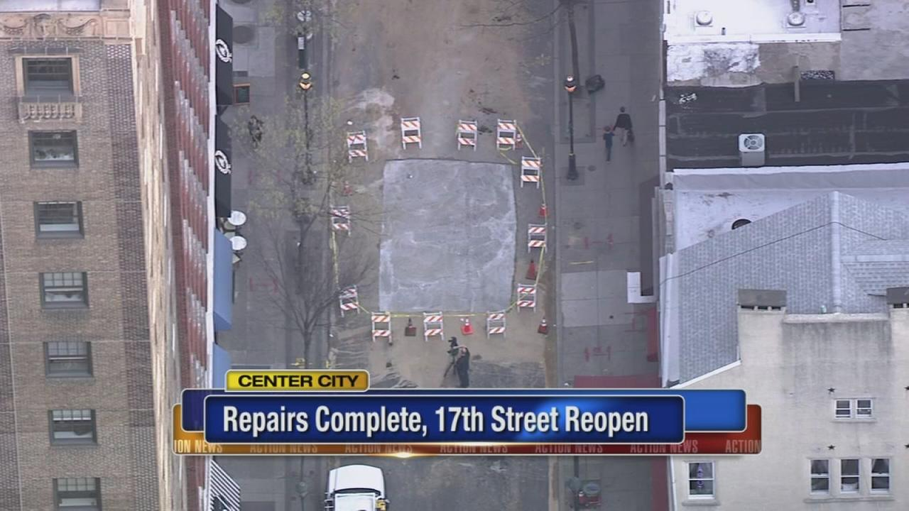 17th Street reopens