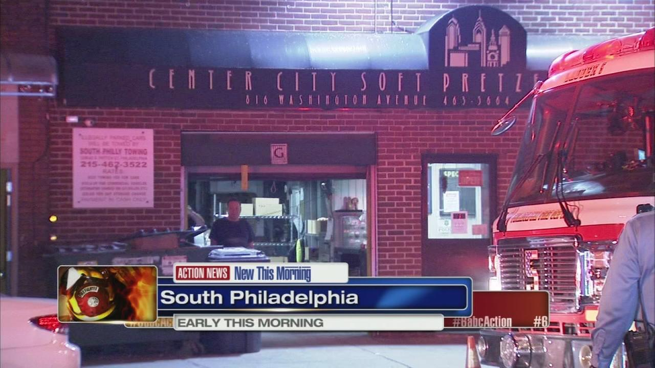 Fire damages apartments in S. Philly