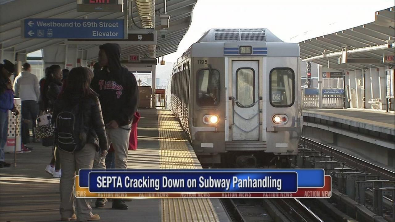 SEPTA cracking down on panhandlers