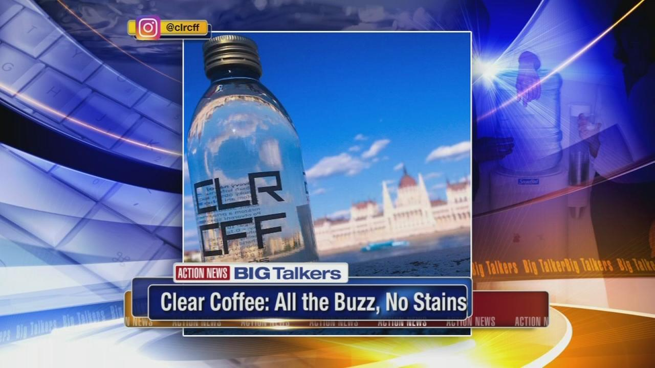 Clear Coffee: All the buzz, no stains