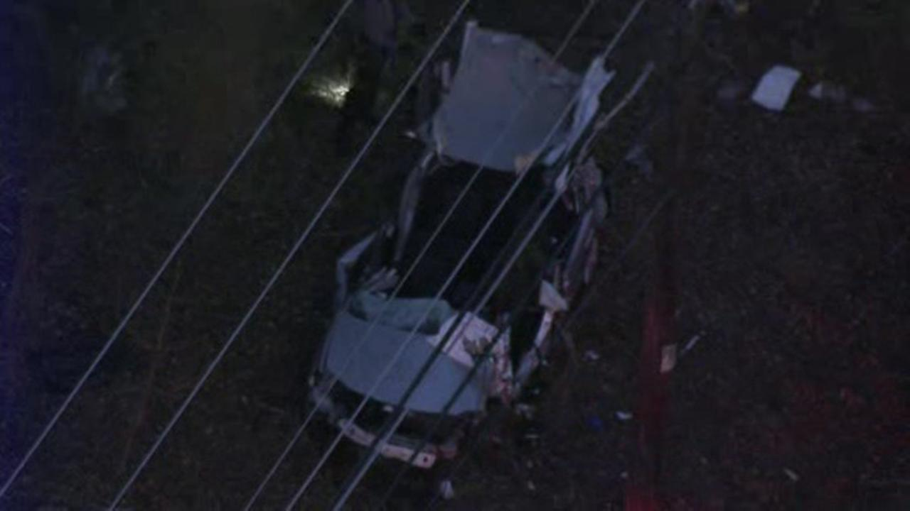 3 injured in Delaware County crash