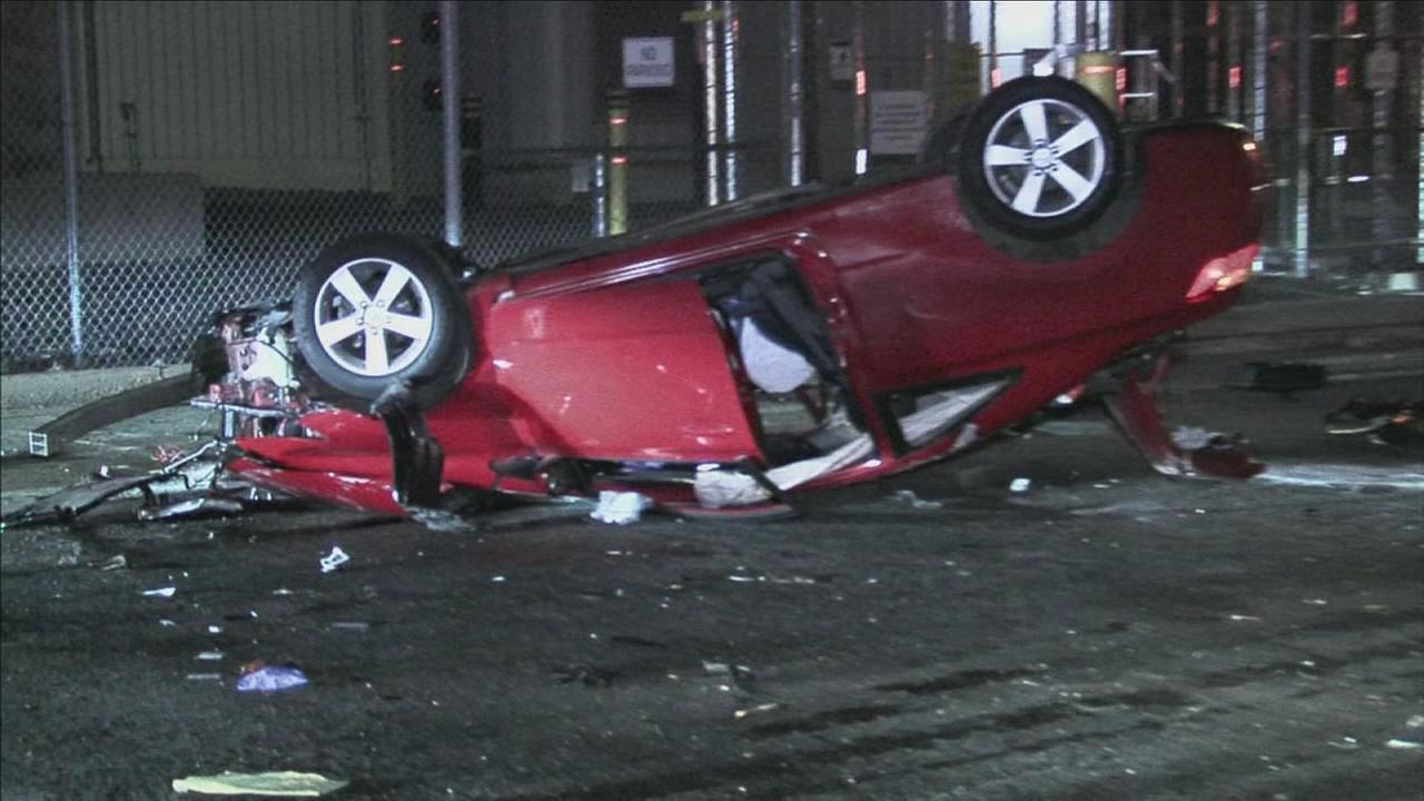 Driver hurt in rollover crash in Fishtown