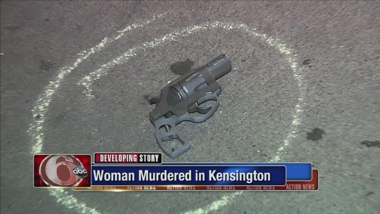 Woman murdered in Kensington