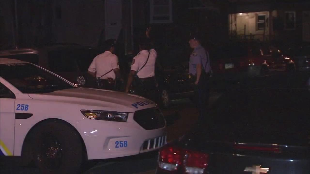 2 men and a woman shot in Feltonville
